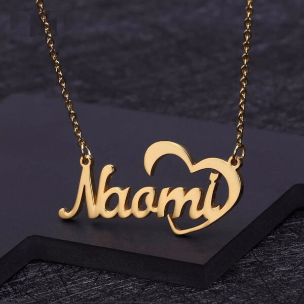 11632465995872 600x600 - Crescent Heart Name Necklace