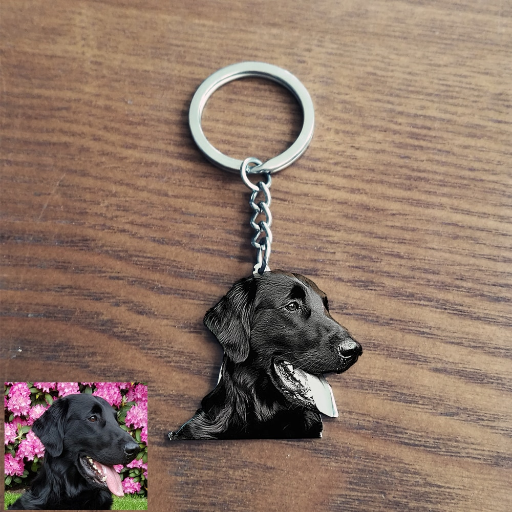 12060171127362 - Custom Pet Photo Keychain