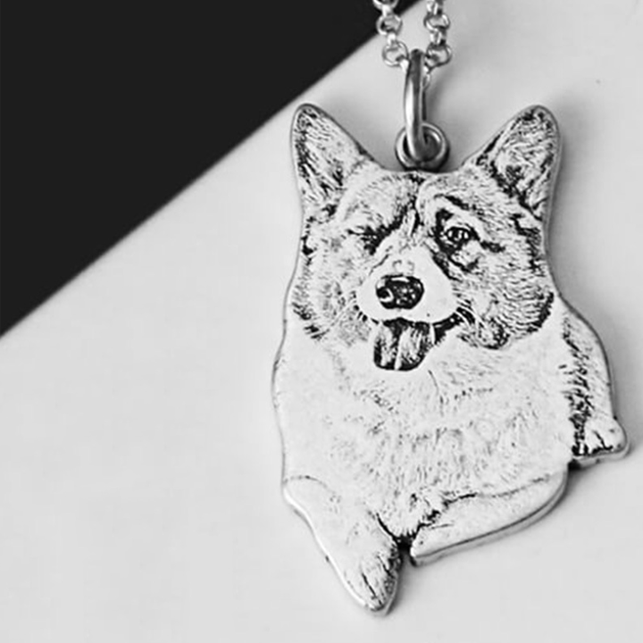 1301287985650 - Engraved Pet Necklace 925 Silver