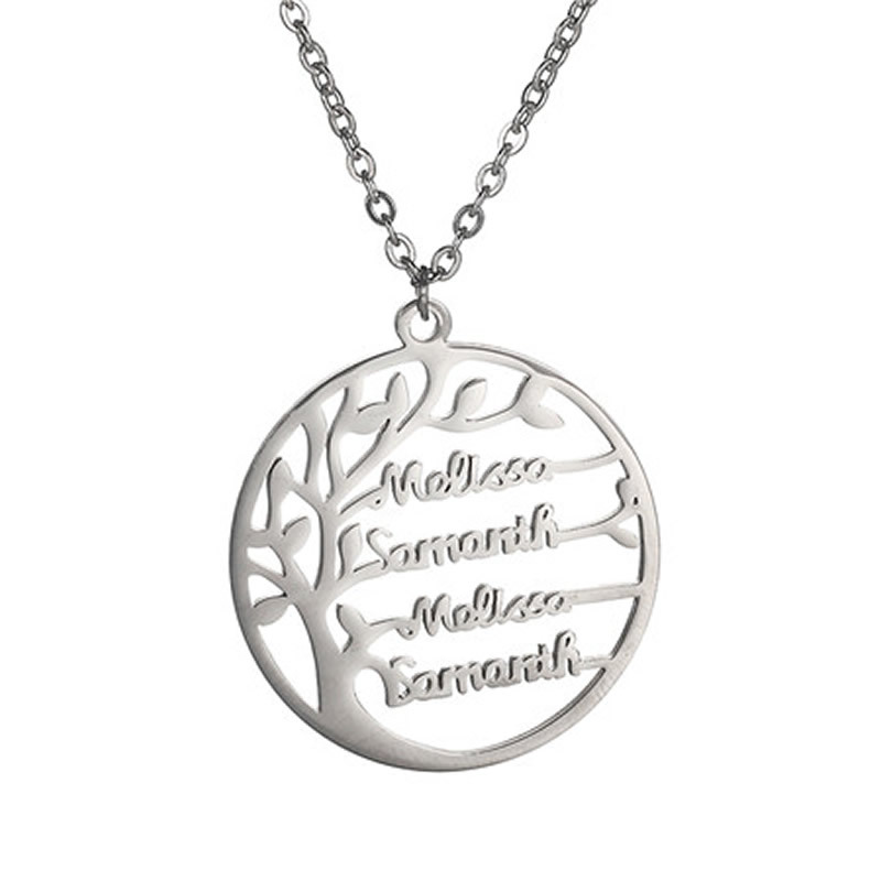 171320607211 - Personalized Family Tree of Life Necklace