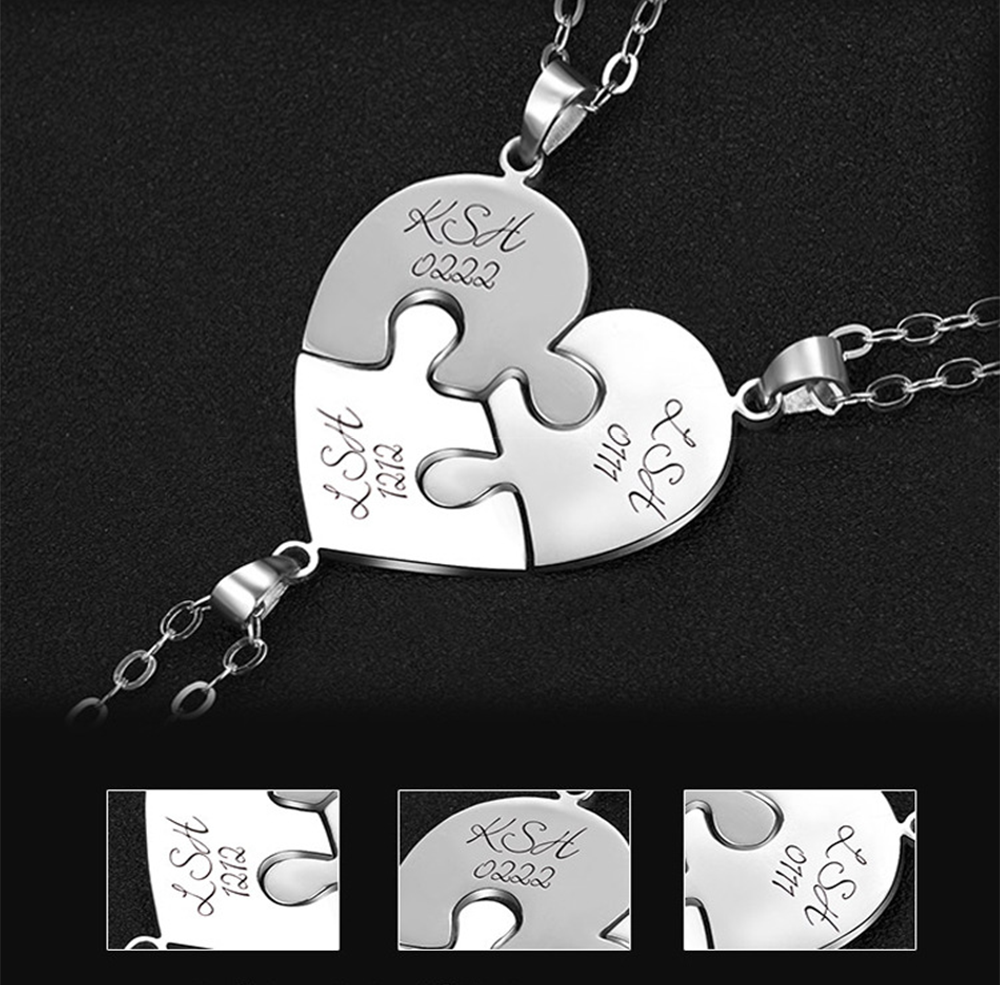 1777318614185 - Personalized Puzzle Up To 7 Pieces Necklace