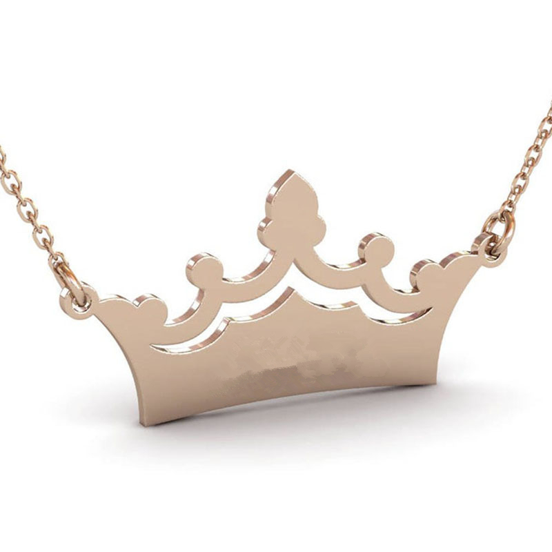 1826484177387 - Crown Custom Name Necklace