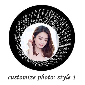 18652269274450 - Personalized Antler Projection Necklace & 100 Languages Photo
