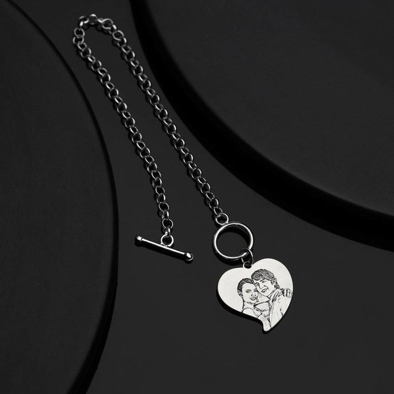 2193382424800 4 - Photo Engraved Tag Bracelet With Engraving