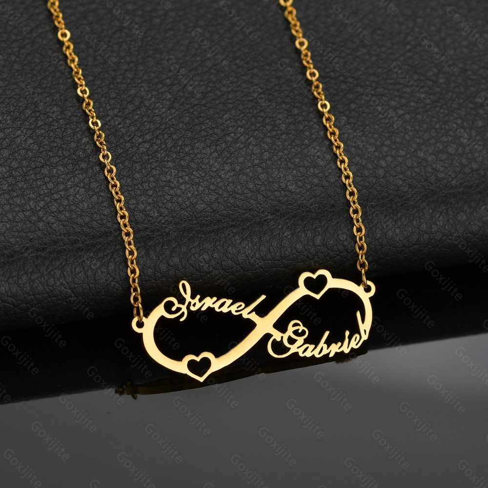 2634110257360 1 - Infinity Custom Name Necklace