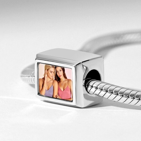 3529180406804 600x600 - Cuboid Shaped Engraved Photo Charm Silver