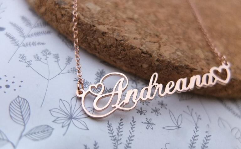 370085101073 - Name With Double Heart Necklace