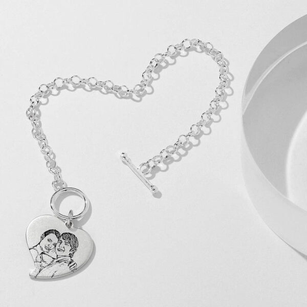 5934178256240 1 600x600 - Photo Engraved Tag Bracelet With Engraving