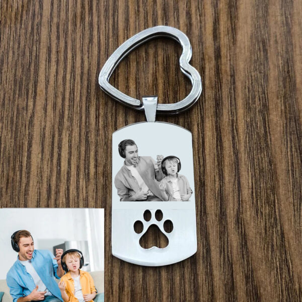 672505547 600x600 - Personalized Photo Keychain With Pet Tags