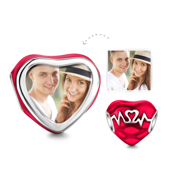 C172 2 600x600 - Beating Heart Photo Charm Silver