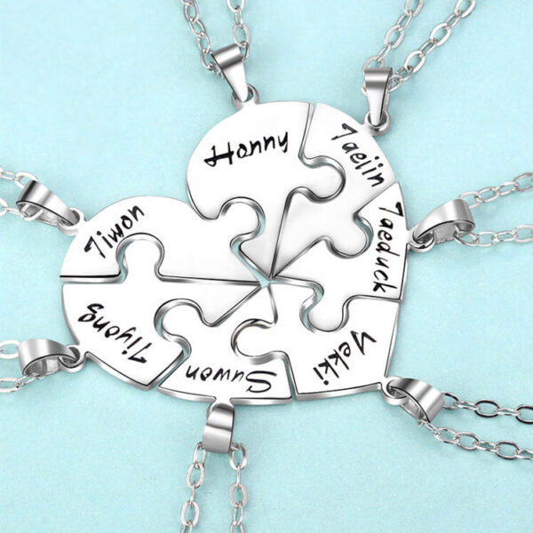 e5 1 600x600 - Personalized Puzzle Up To 7 Pieces Necklace