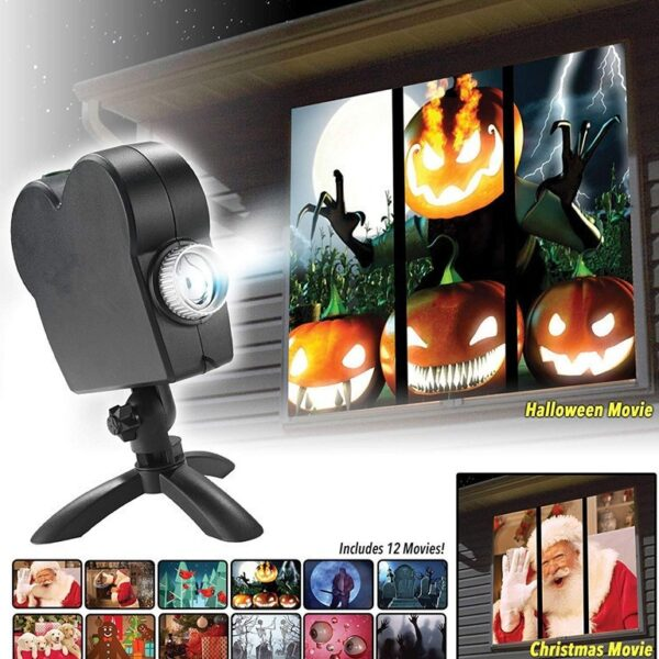 1543664199124 600x600 - Halloween Party Projector Lamp