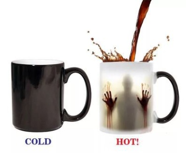 647745585767 - Halloween Changing Mug Ceramic Thermosensitive Coffee Cup