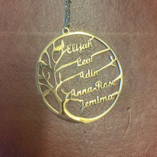 Personalized Family Tree of Life Necklace photo review