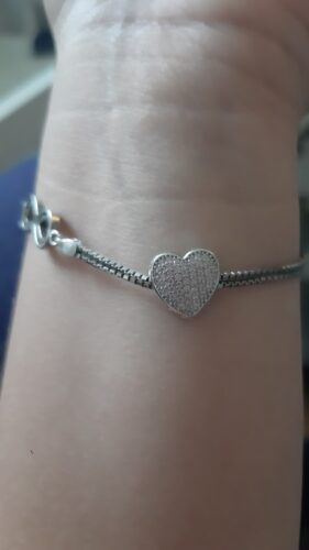 Beating Heart Photo Charm Silver photo review